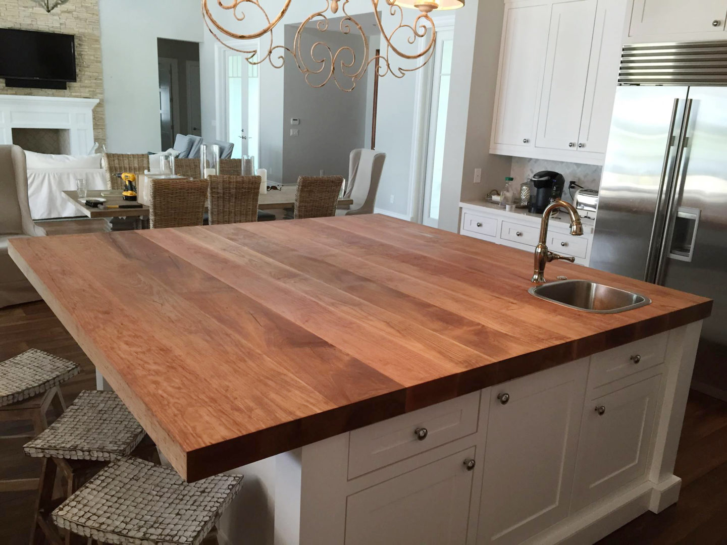 Wooden Countertops by Cabinet Solutions